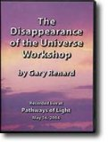 2-DVD Workshop: The Disappearance of the Universe