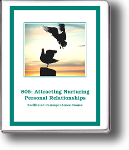 805: Attracting Nurturing Personal Relationships Self-Study