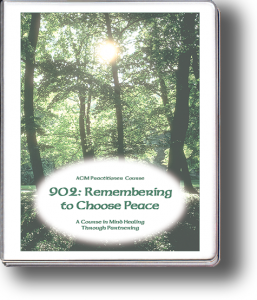902: Remembering to Choose Peace