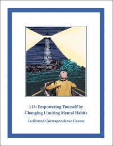 113e: Empowering Yourself by Changing Limiting Mental Habits Self-Study Download